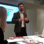 James delivering Digital Marketing Advice to Leading UK Serviced Apartment Providers