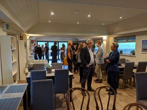 Networking at the Alton Business Platform October 2019